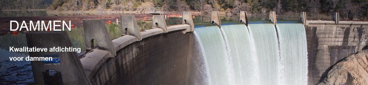 dam waterdicht maken