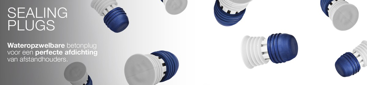 De Sealing Plug is een revolutionaire oplossing voor de afdichting van afstandhouders in betonconstructies