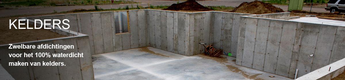 Kelder waterdicht maken besealed for Huis waterdicht maken