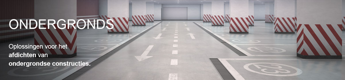 waterdicht maken van ondergrondse constructies