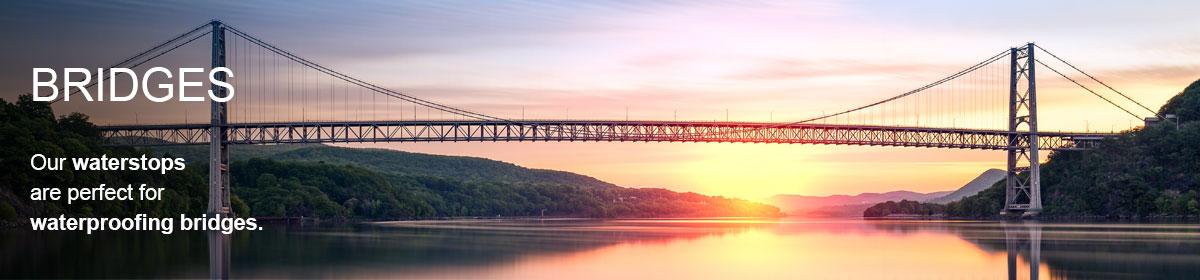 Waterproofing bridges