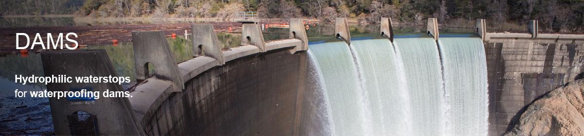 waterproofing dams