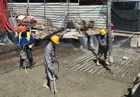 Constructie van de nieuwe metrolijn in Sofia
