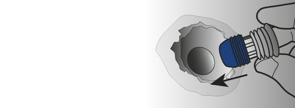 Stap 1 - Montage Sealing Plug